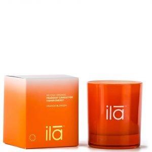 Ila-Spa Candle For Higher Energy Orange Blossom