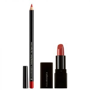 Illamasqua Get Burnt Lip Kit Worth €36