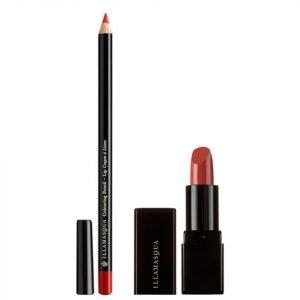 Illamasqua Get Burnt Lip Kit Worth €36