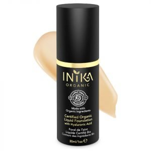 Inika Certified Organic Liquid Mineral Foundation Various Colours Beige