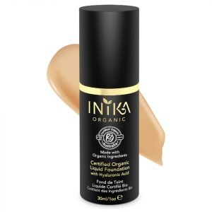 Inika Certified Organic Liquid Mineral Foundation Various Colours Tan