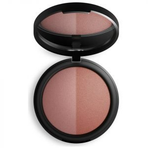 Inika Mineral Baked Blush Duo Burnt Peach 6.5 G