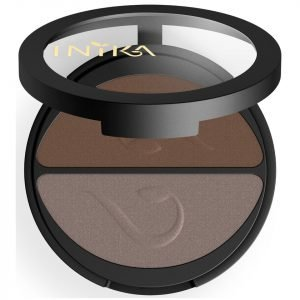 Inika Pressed Mineral Eyeshadow Duo Choc Coffee