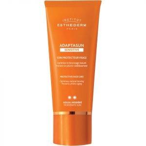 Institut Esthederm Adaptasun Sensitive Skin Face Cream Moderate Sun 50 Ml