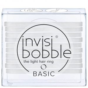 Invisibobble Basic The Light Hair Ring Crystal Clear 10 Pack