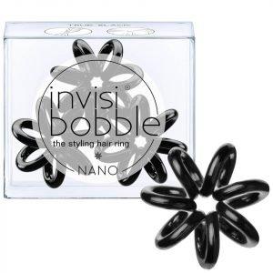 Invisibobble Nano Hair Tie 3 Pack True Black