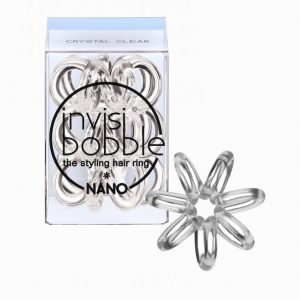 Invisibobble Nano Hiuslenkki Crystal Clear