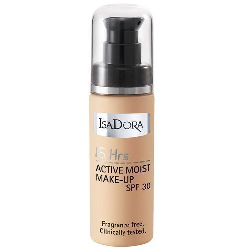 IsaDora 16Hrs Active Moist Make-up SPF 30 31 Fair Beige