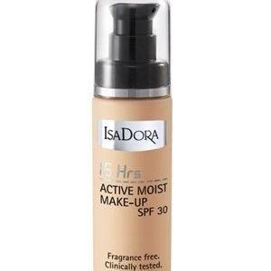 IsaDora 16h Active Moist Make-up SPF 30 35 Sunny Beige