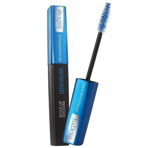 IsaDora Build-Up Extra Volume Mascara Waterproof 23 Dark Blue