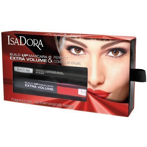 IsaDora Build-Up Mascara Extra Volume & Perfect Contour Kajal Kit