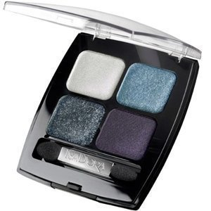 IsaDora Eye Shadow Quartet 63 Smoke & Shimmer Brown Platina