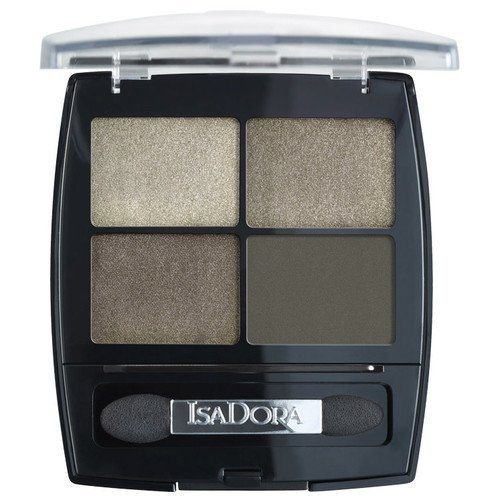 IsaDora Eyeshadow Quartet 21 Silvery Grey