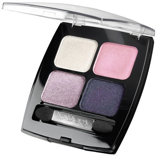 IsaDora Eyeshadow Quartet Smokey Eyes 94 Gold & Silver