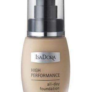 IsaDora High Performance Foundation All day Foundation 4 Medium Nougat