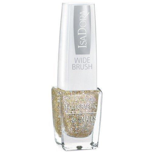 IsaDora Holographic Nails Gold Digger