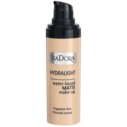IsaDora Hydralight Water-based Matte Make-Up Foundation 63 Soft Beige