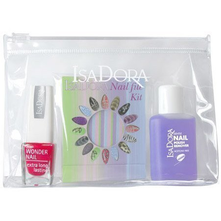 IsaDora Nail Travel Kit Hot Hibiscus