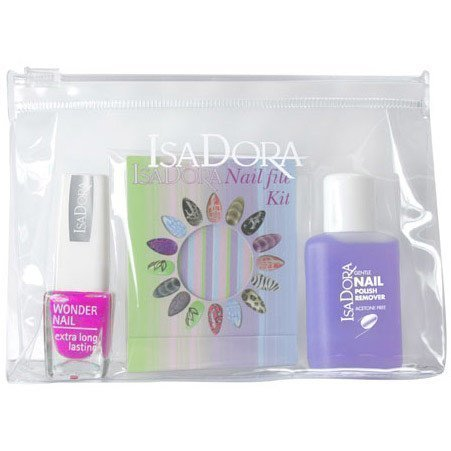 IsaDora Nail Travel Kit Power Pink
