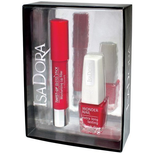 IsaDora Red Alert + Red Romance Duo