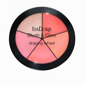 Isadora Blush & Glow Draping Wheel Poskipuna Coral Pink