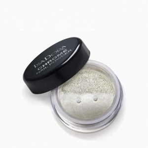 Isadora Chrome Nail Powder Kynsilakka Silver Mirror