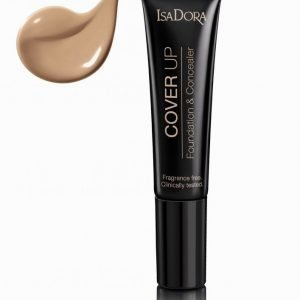 Isadora Cover Up Foundation & Concealer Meikkivoide Almond