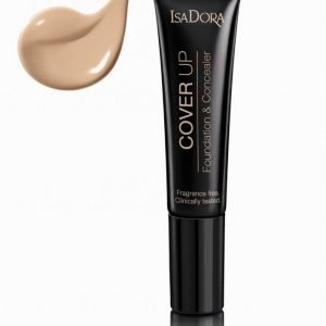 Isadora Cover Up Foundation & Concealer Meikkivoide Nude