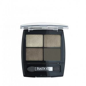 Isadora Eyeshadow Quartet Luomiväri Urban Green