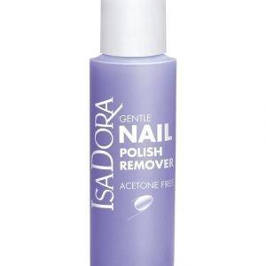 Isadora Gentile Nail Polish Remover Asetoniton Kynsilakanpoistoaine 100 ml