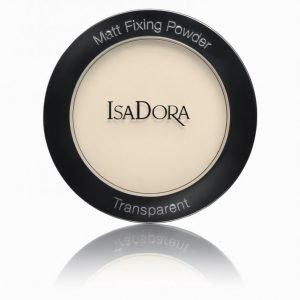 Isadora Matt Fixing Blotting Powder Puuteri Blonde