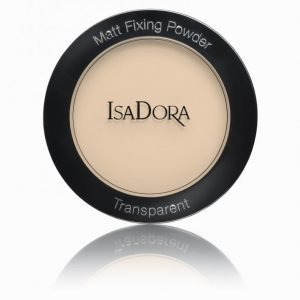 Isadora Matt Fixing Blotting Powder Puuteri Nude
