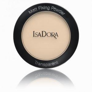 Isadora Matt Fixing Blotting Powder Puuteri Nude