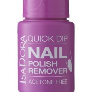 Isadora Quick Dip Nail Polish Remover Kynsilakanpoistoaine 50 ml