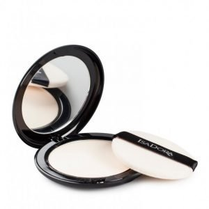 Isadora Velvet Touch Compact Powder Puuteri Sheer Transparent