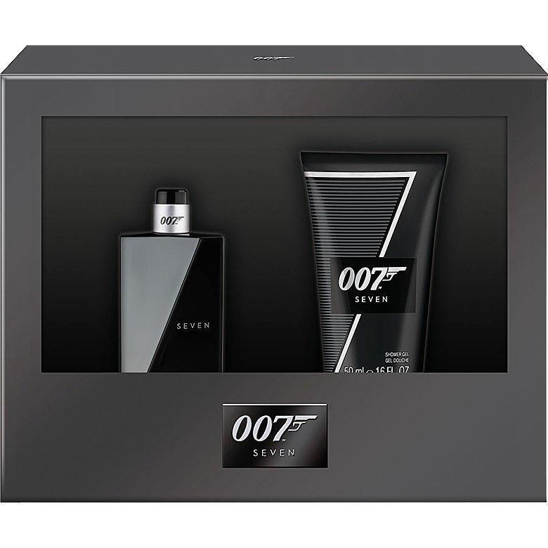 James Bond James Bond Seven EdT 30ml Shower Gel 50ml