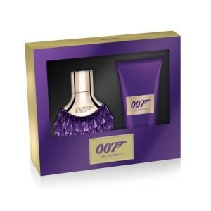 James Bond Woman 3 Edp 30 Ml + Vartalovoide 50 Ml Lahjapakkaus Naiselle