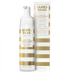James Read 1 Hour Tan Bronzing Mousse For Face And Body 200 Ml