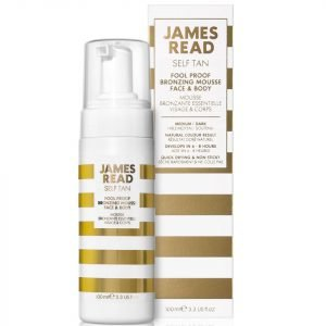 James Read Foolproof Bronzing Face And Body Mousse Dark 100 Ml