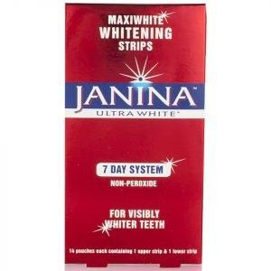 Janina Maxiwhite Intensive Whitening Strips 14 Strips
