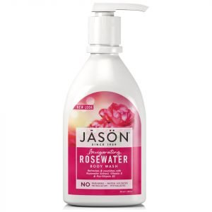 Jason Invigorating Rosewater Body Wash 887 Ml