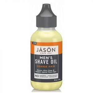 Jason Men's Shave Oil Coarse Hair