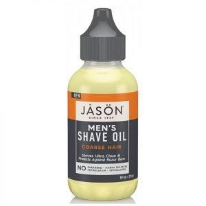 Jason Men's Shave Oil Coarse Hair