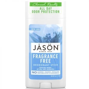Jason Naturally Unscented Deodorant Stick For Men 71 G