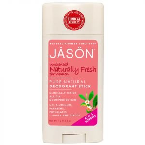 Jason Naturally Unscented Deodorant Stick For Women 71 G