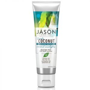 Jason Simply Coconut Refreshing Coconut Eucalyptus Toothpaste 119 G
