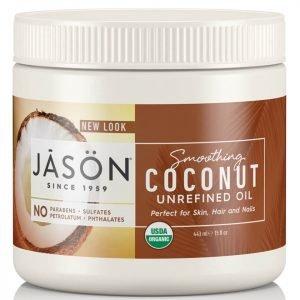 Jason Smoothing Organic Coconut Oil 443 Ml