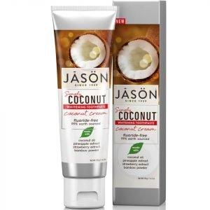 Jason Whitening Coconut Cream Toothpaste 119 G