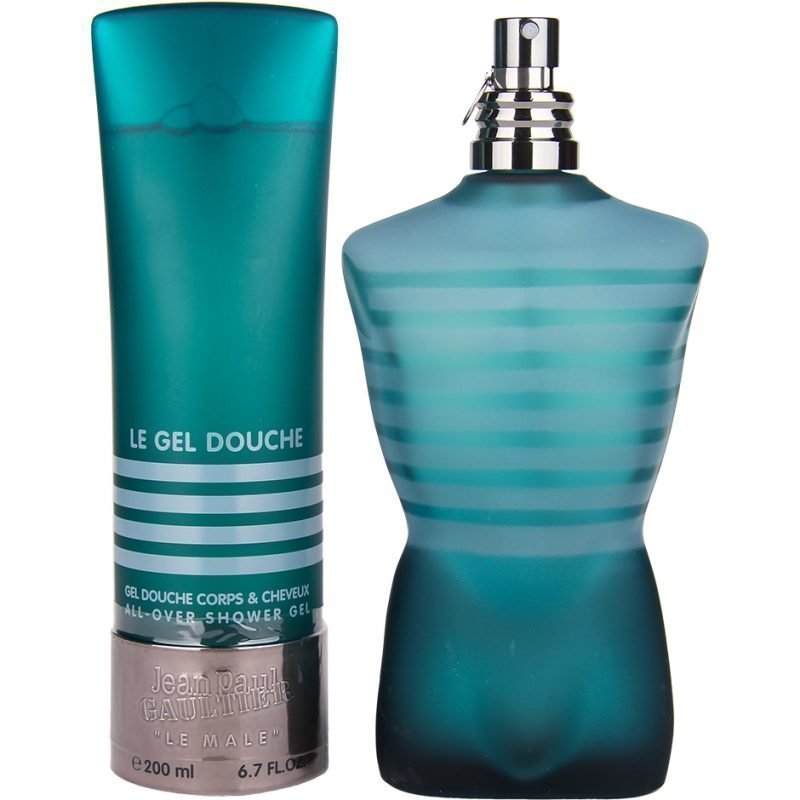 Jean Paul Gaultier Le Male Duo EdT 200ml Shower Gel 200ml