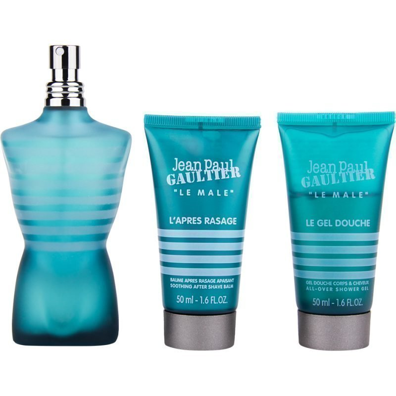 Jean Paul Gaultier Le Male EdT 75ml Shower Gel 50ml After Shave Balm 50ml